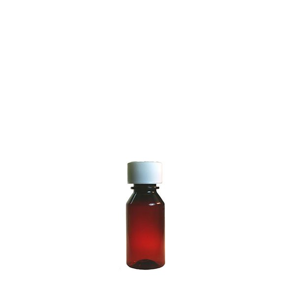 1 oz Medicine Bottles with Child-Resistant Caps, Amber