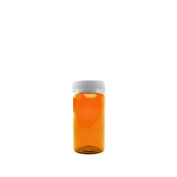 13 Dram Packer Vials with Child Resistant Caps, Amber
