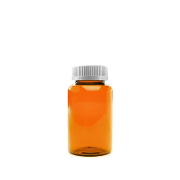 30 Dram Packer Vials with Child Resistant Caps, Amber