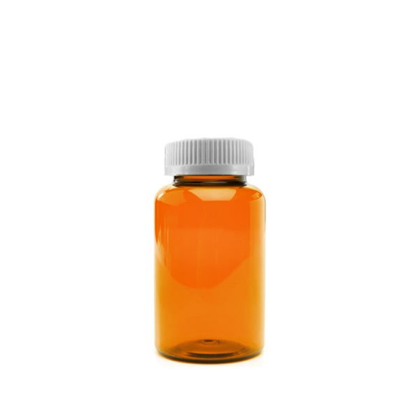 40 Dram Packer Vials with Child Resistant Caps, Amber