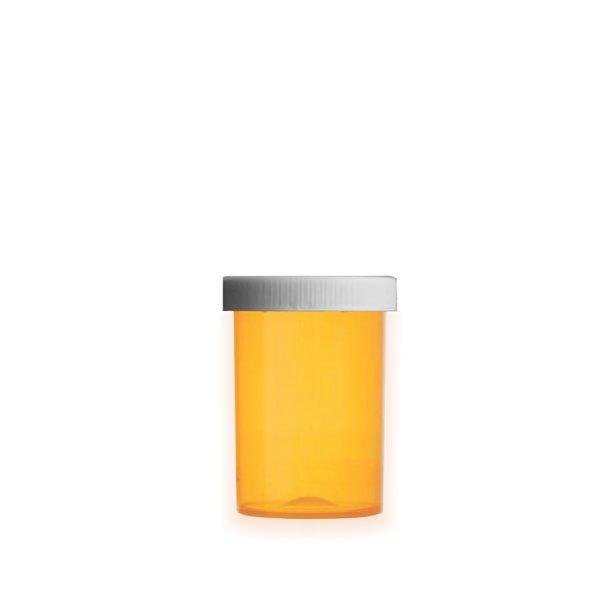 30 Dram Premium Pill Bottles with Child Resistant Caps, Amber