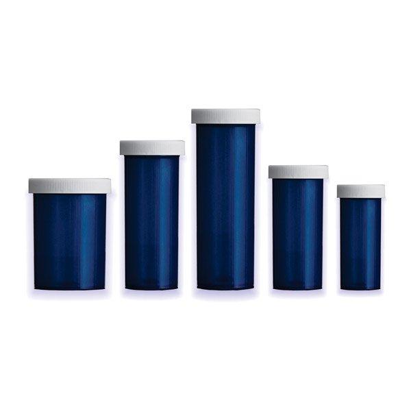 Blue Premium Pill Bottles